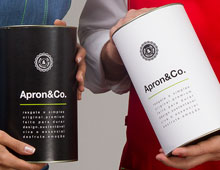 branding & package design Apron&Co.